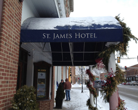 St. James Hotel in Red Wing MN